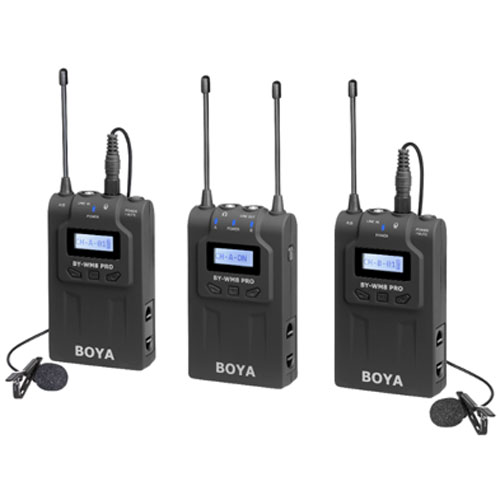 картинка BOYA BY-WM8 pro  K2 Wireless microphone system от магазина Chako.ua