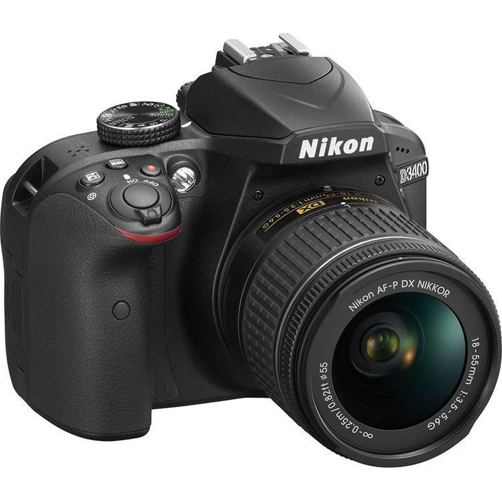 картинка Nikon D3400 kit with  AF-P18-55 Non-VR KIT от магазина Chako.ua