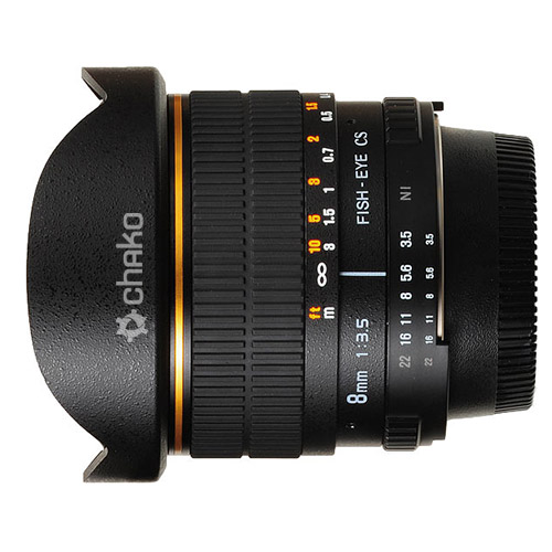картинка Lens Chako 8mm Fisheye for Canon от магазина Chako.ua