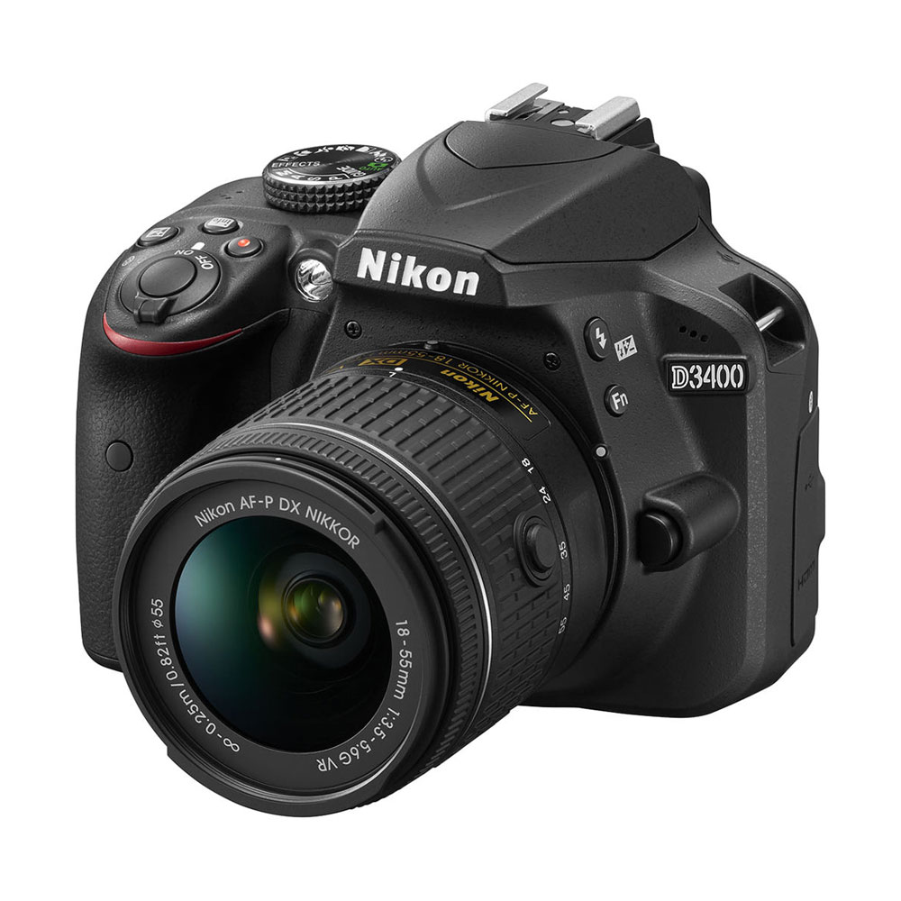 картинка Nikon D3400 kit with AF-P18-55VR от магазина Chako.ua